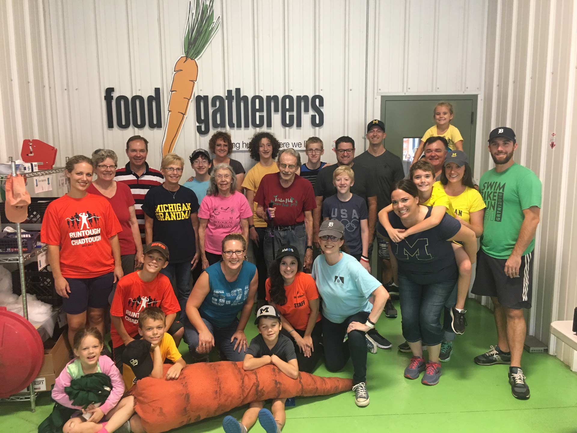 Food Gathers Day of Service